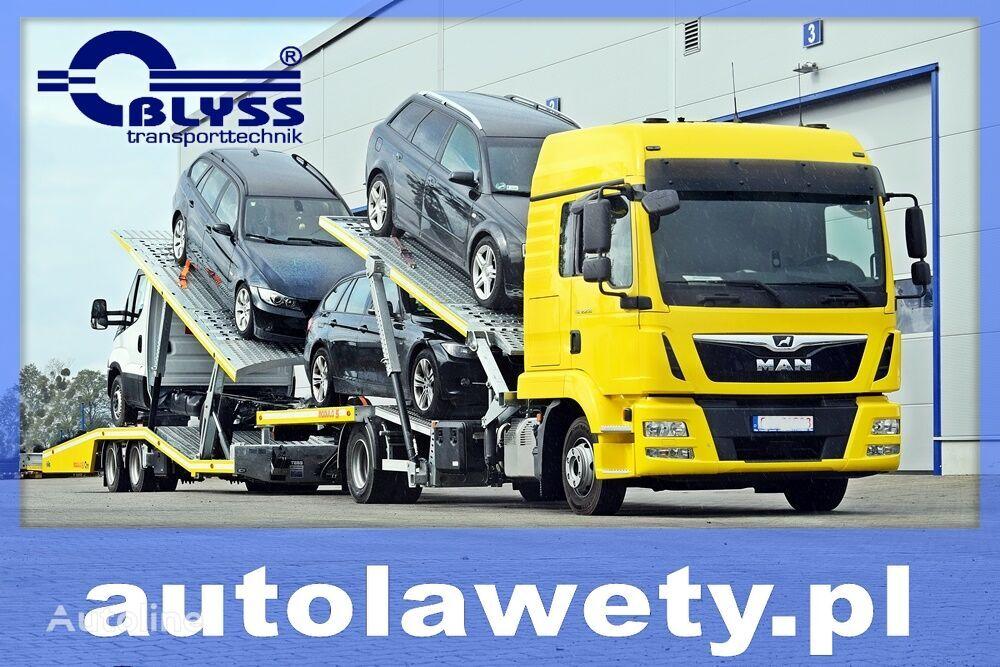 Autolaweta/Autotransporter BLYSS 5 samochodów car transporter