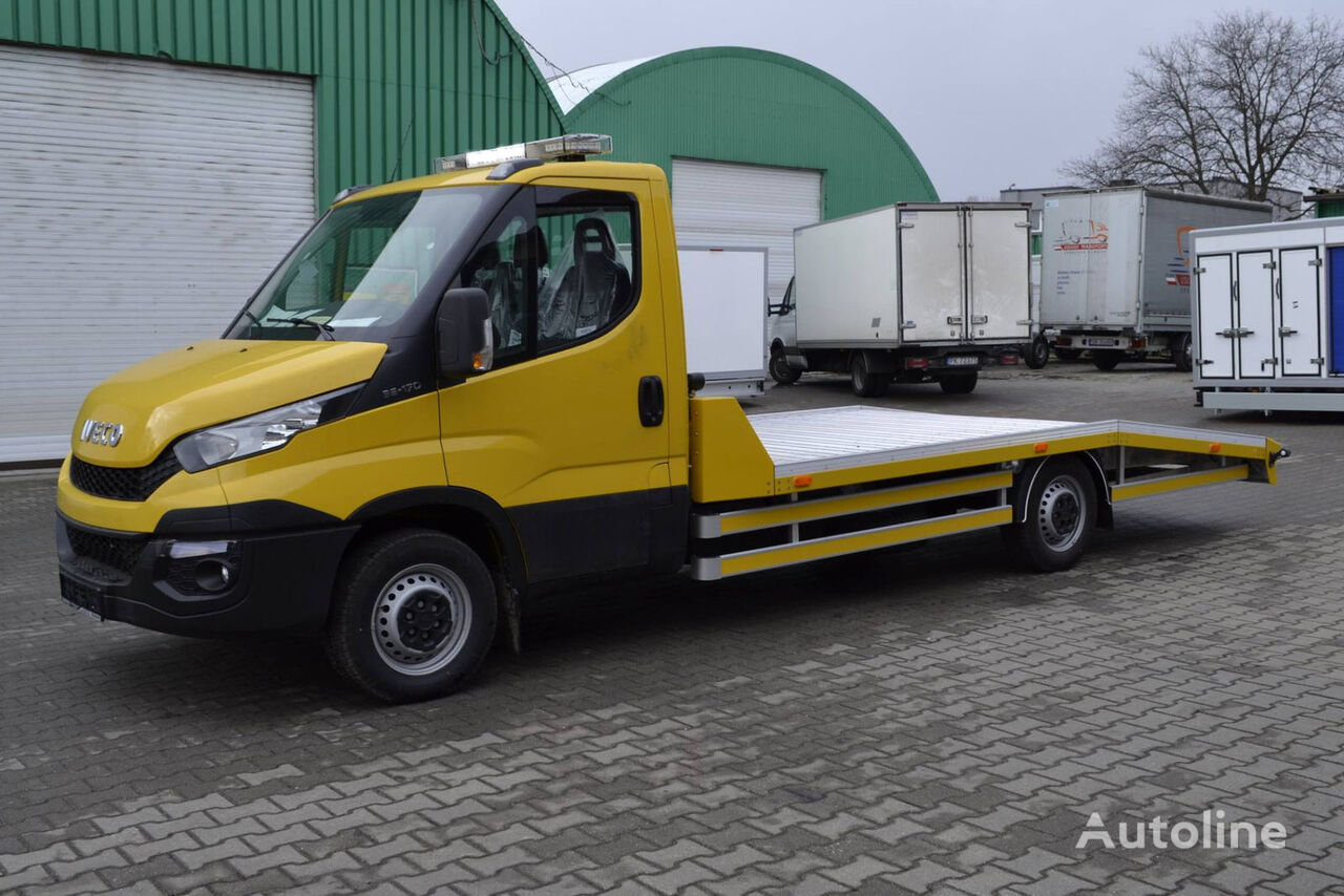 new iveco daily 35s18 autotransporter car transporter for sale car carrier truck from germany. Black Bedroom Furniture Sets. Home Design Ideas