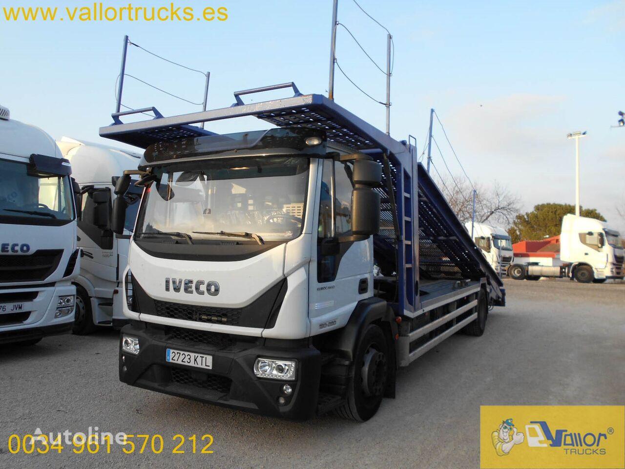 IVECO Eurocargo 180E28 car transporter