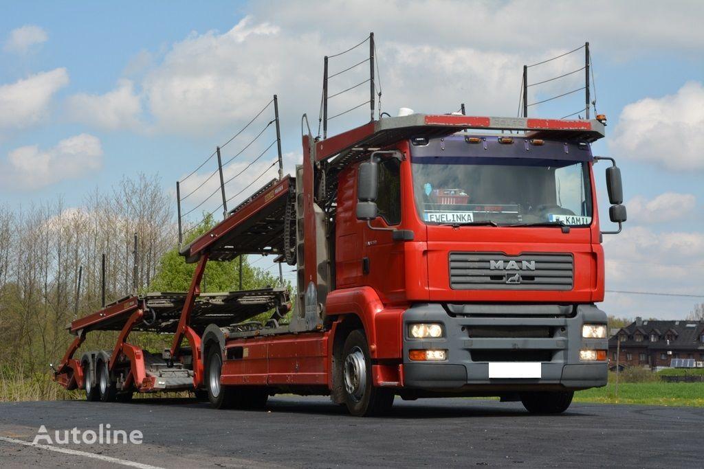 MAN TGA 350 PEGASUS 3  car transporter
