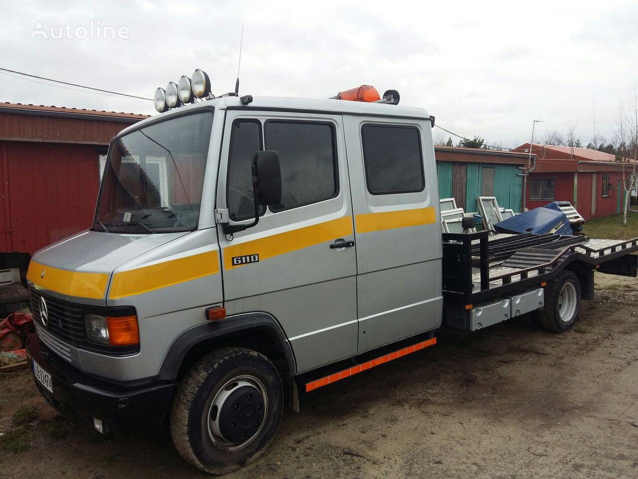 MERCEDES-BENZ 611 D car transporter