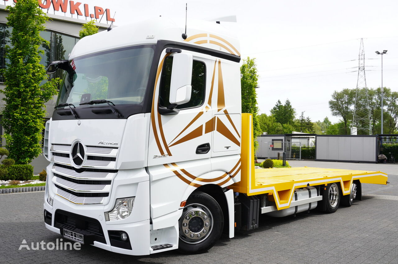 MERCEDES-BENZ Actros 2542 , E6 , 6x2 , NEW BODY 8,3m , Steer axle , Winch ,rem car transporter