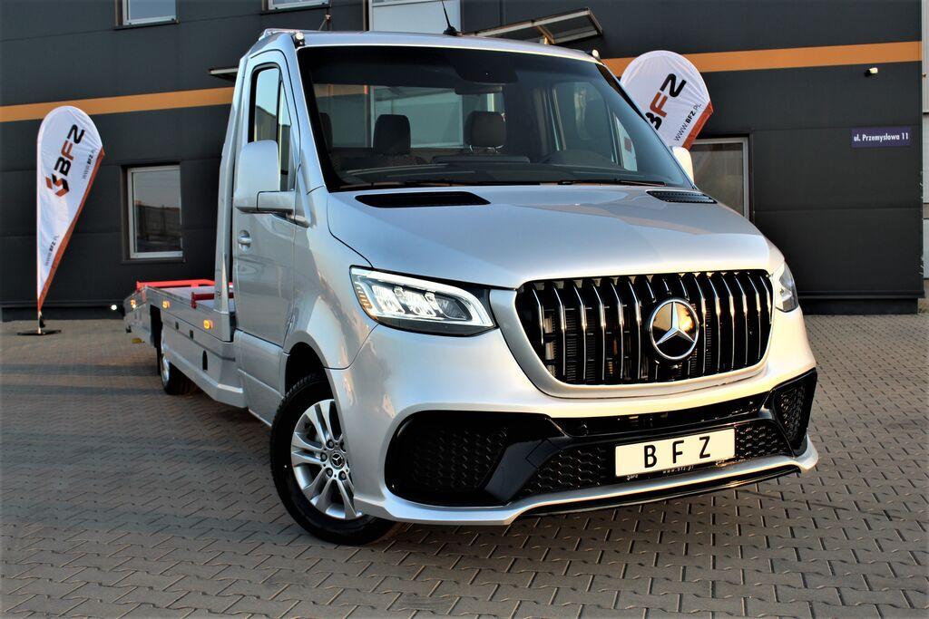 new MERCEDES-BENZ Autotransporter Sprinter AMG 319 V6 BFZ PLATEAU® *NAVI*XENON* car transporter