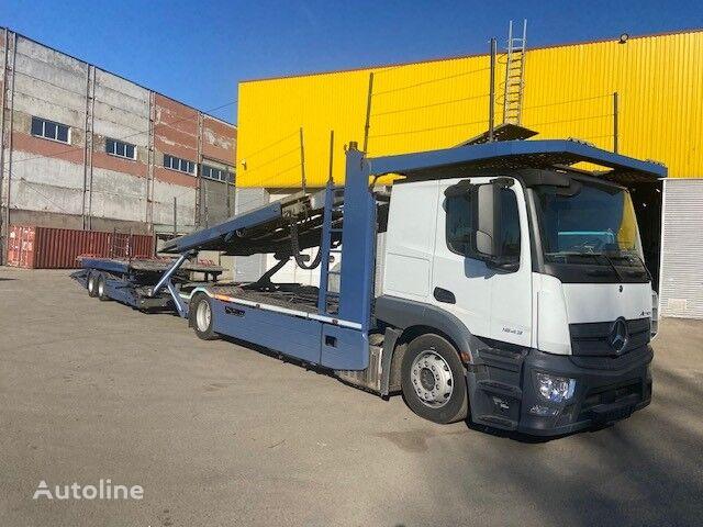 new MERCEDES-BENZ New Actros 1843 car transporter + car transporter trailer