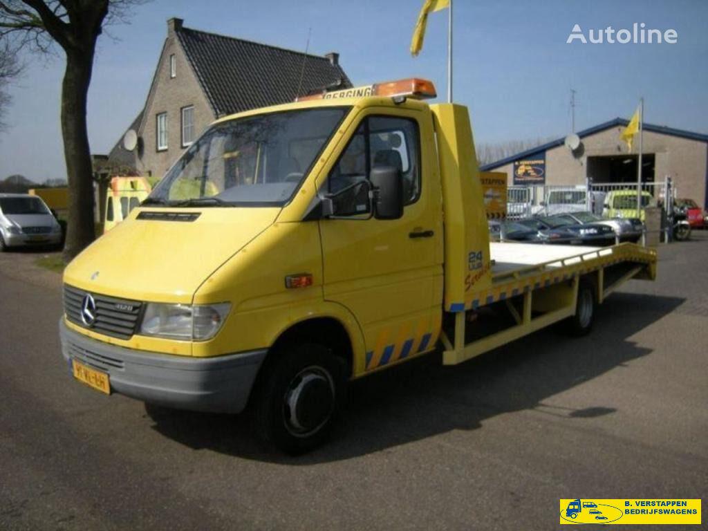 MERCEDES-BENZ Sprinter 412D Oprijwagen car transporter