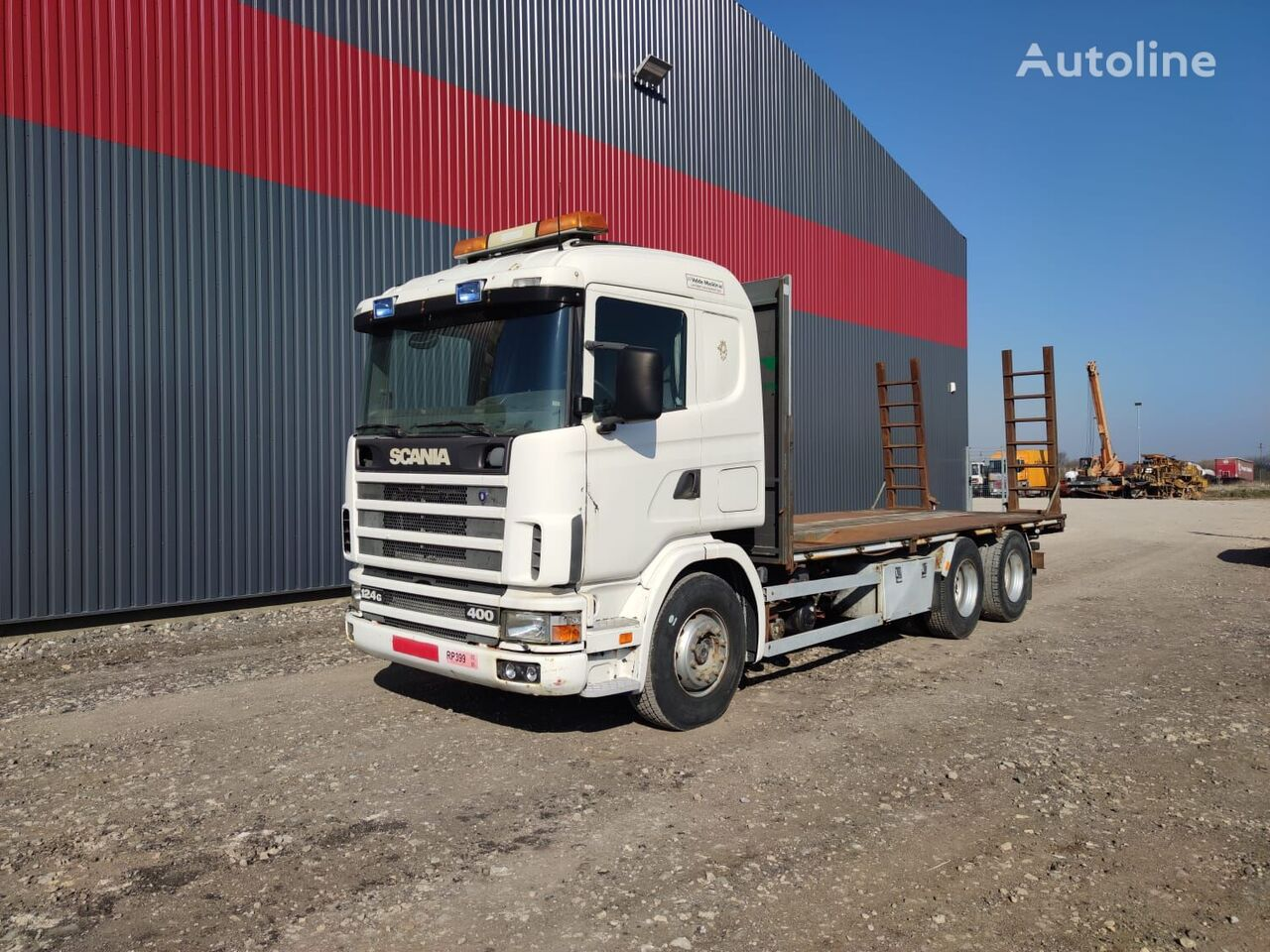 SCANIA 124.400 car transporter