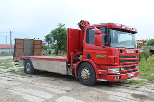 SCANIA 94D 220 car transporter