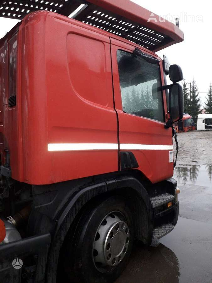 SCANIA P380, semi-trailer trucks car transporter for parts