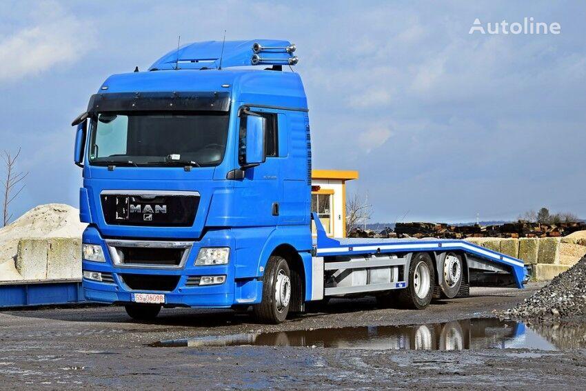 Transporter Maszyn Specjalistycznych Budowlanych Rolniczych car transporter