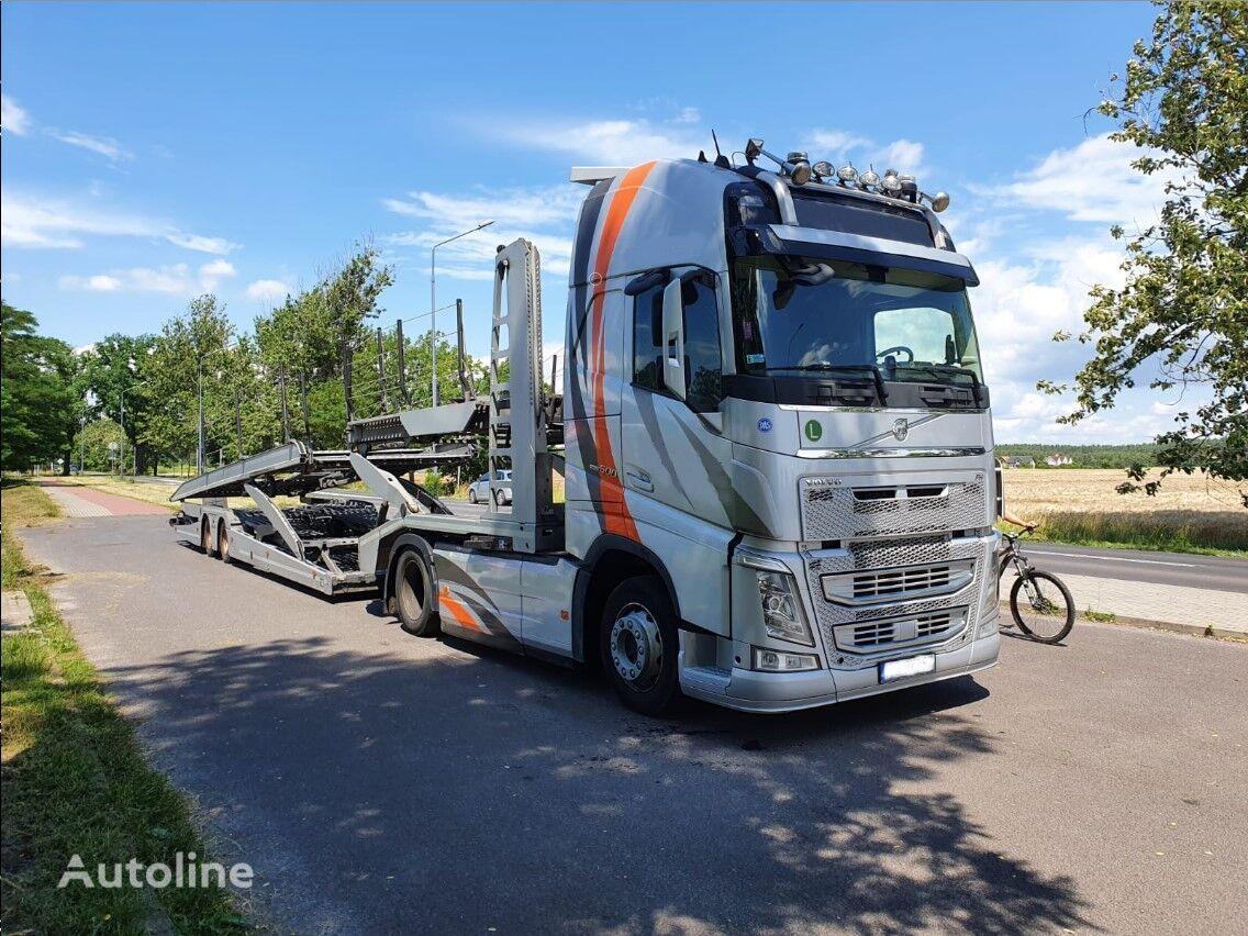 VOLVO FH + LOHR EHR 200 C2 car transporter