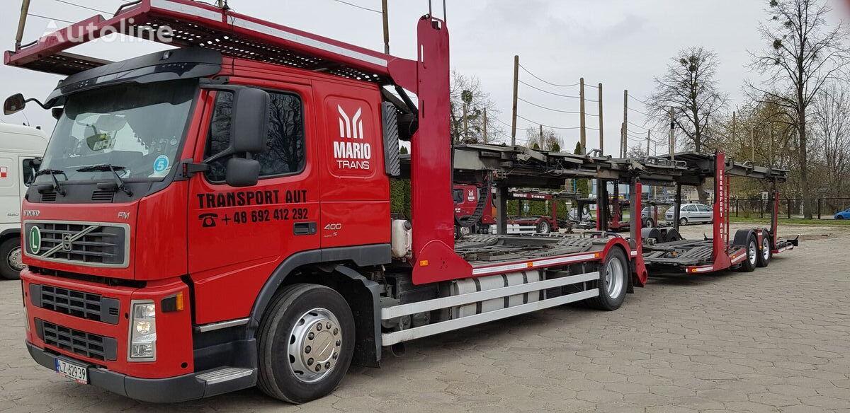 VOLVO FM 400 car transporter