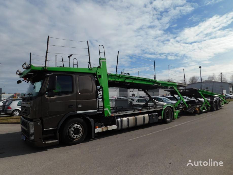 VOLVO FM, ROLFO aufbau und ROLFO anhanger car transporter + car transporter trailer