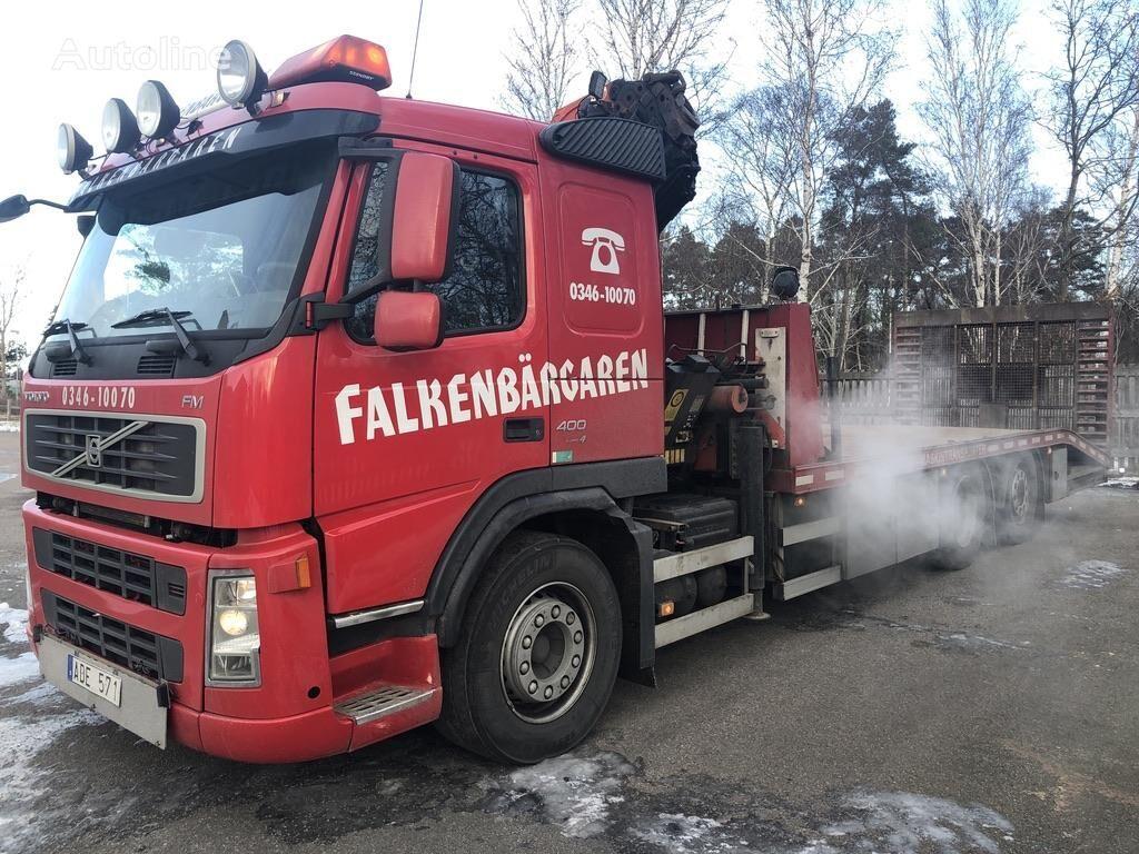 VOLVO FM13 car transporter