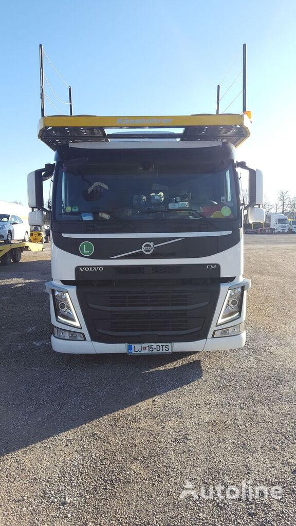 VOLVO FM460 car transporter + car transporter trailer