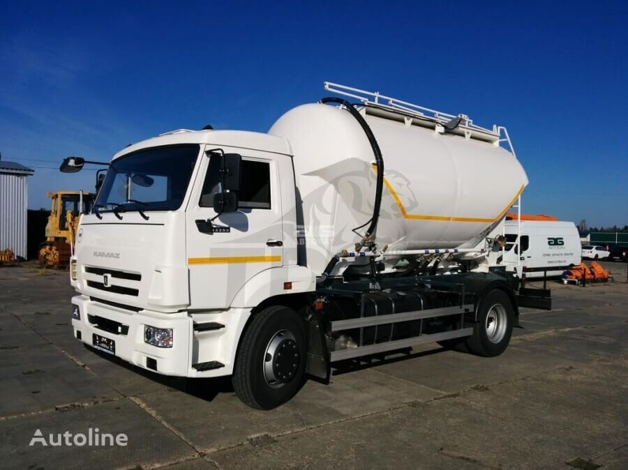 NURSAN TRAILER  cement tank truck