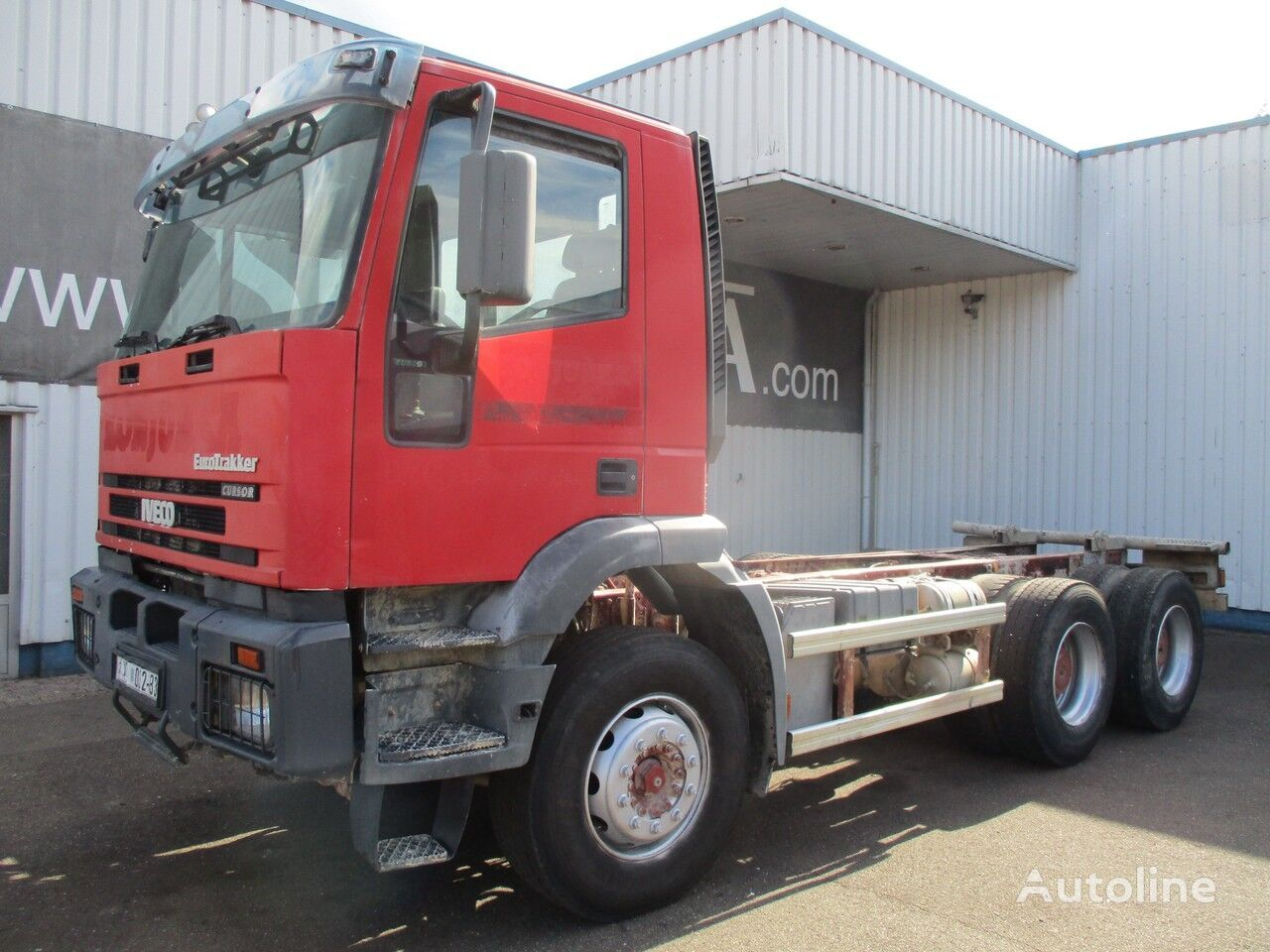 IVECO Euro Trakker 260 E 35 , 6x4 ,ZF Manual , Spring Suspension chassis truck