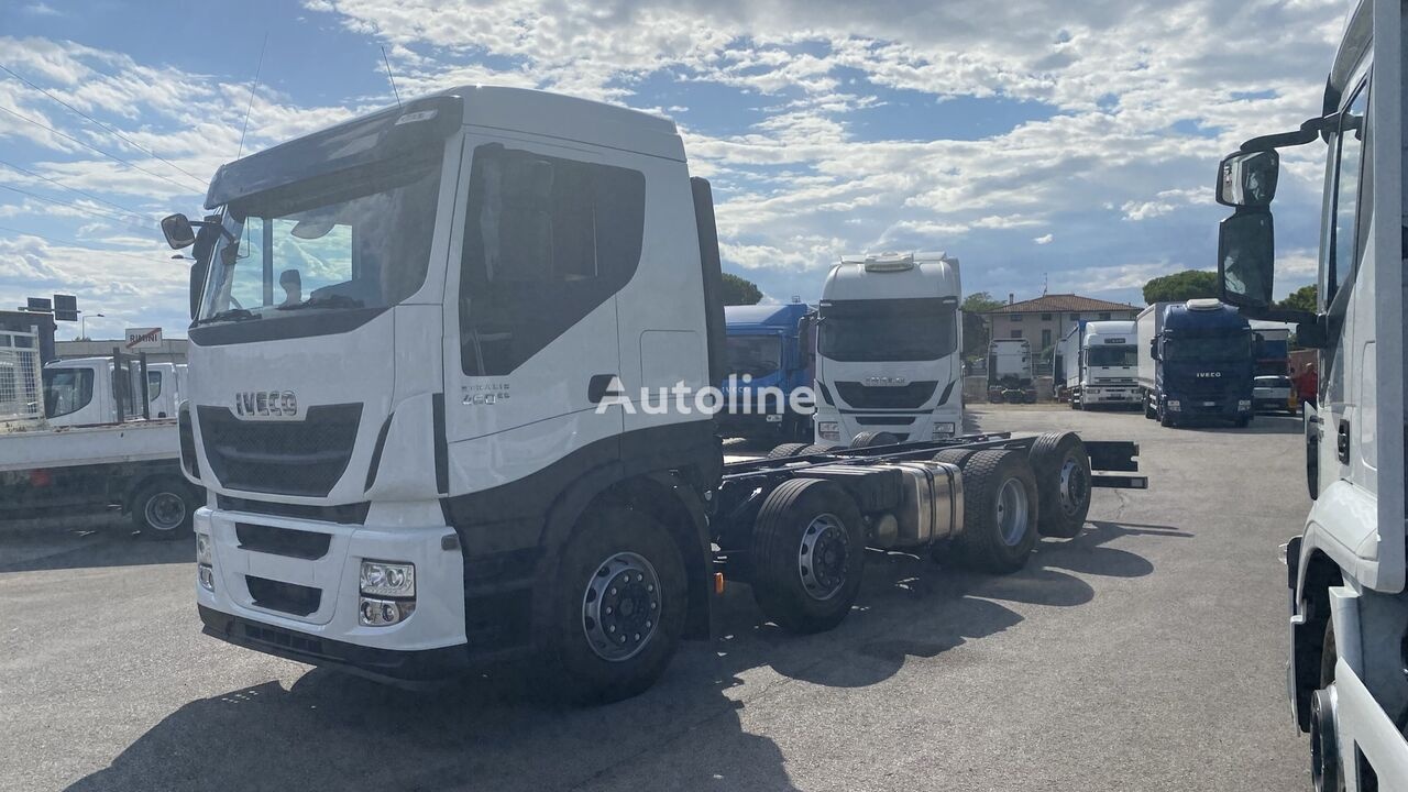 IVECO STRALIS HI WAY AS320S46Y/PS TETTO BASSO RETARDER chassis truck
