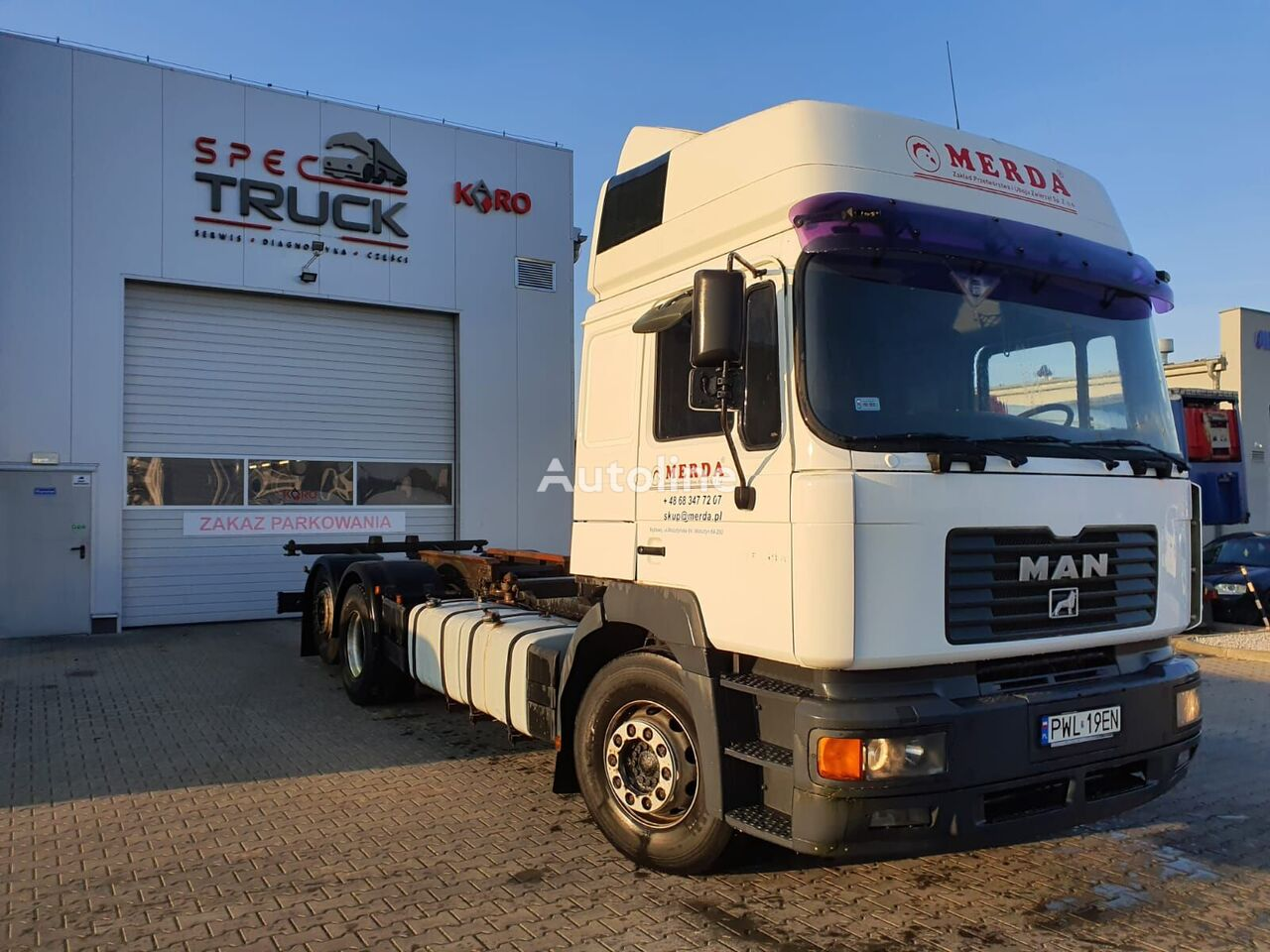 MAN 26.364 chassis truck