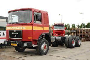 MAN 32.361 6X4 MANUAL FULL STEEL chassis truck