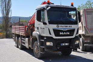 MAN TGS 33.400 6X6 KAMYON VİNÇLİ chassis truck