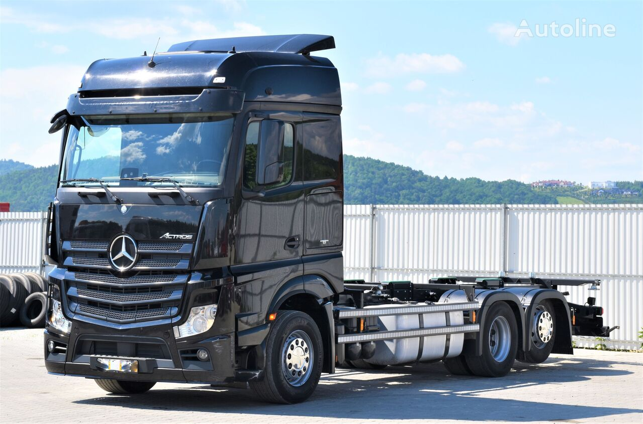 MERCEDES-BENZ ACTROS 2542 Fahrgestell 6,80m - BDF *Topzustand! chassis truck