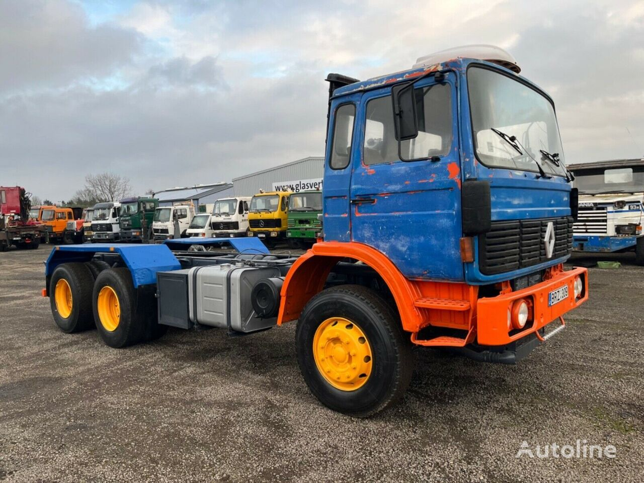 RENAULT G290 chassis truck