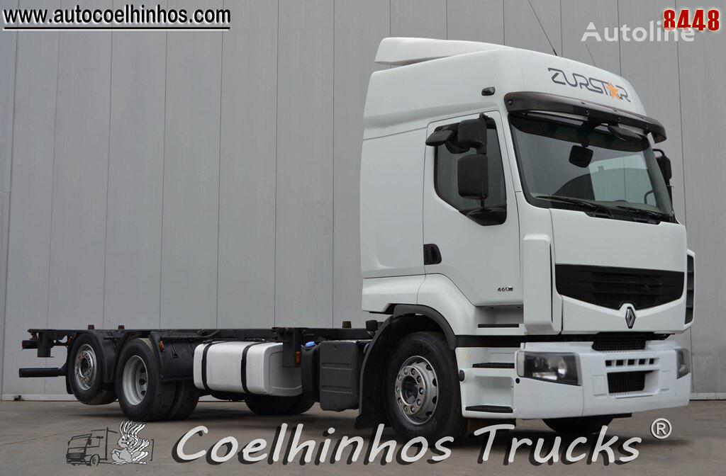 RENAULT Premium 460DXi EEV chassis truck