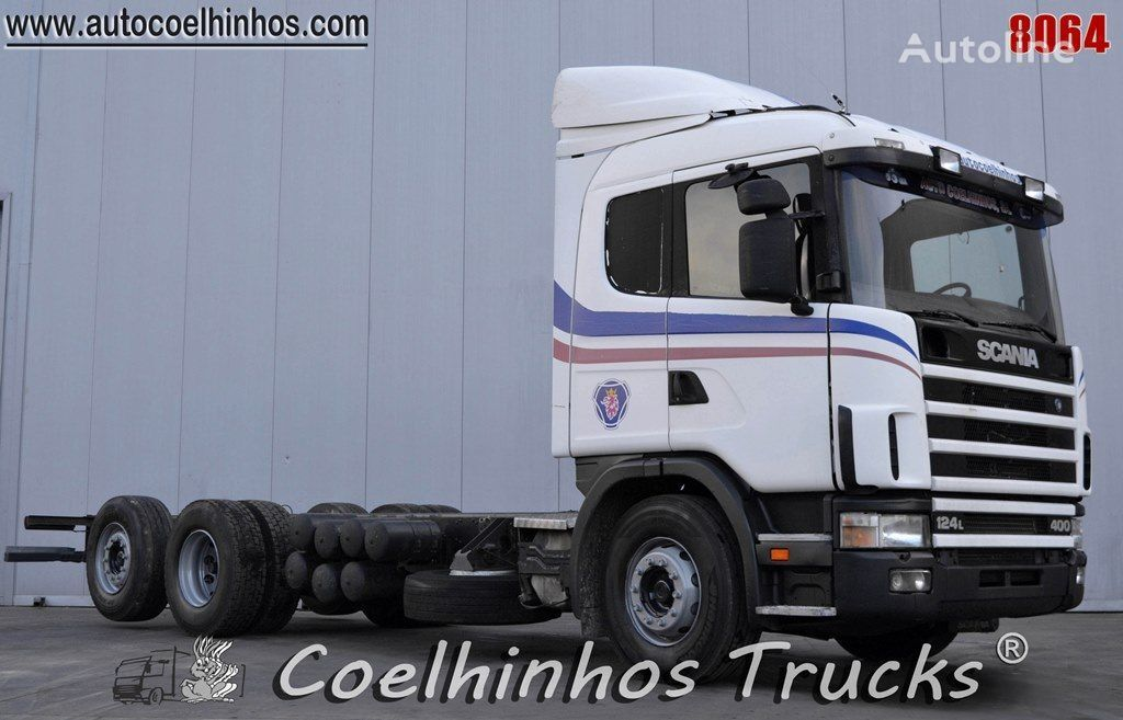 SCANIA 124L 400 chassis truck