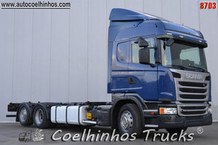 SCANIA G 410 chassis truck