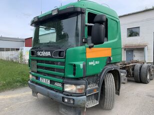 SCANIA P124 420 GB6X2 Hydraulic  chassis truck