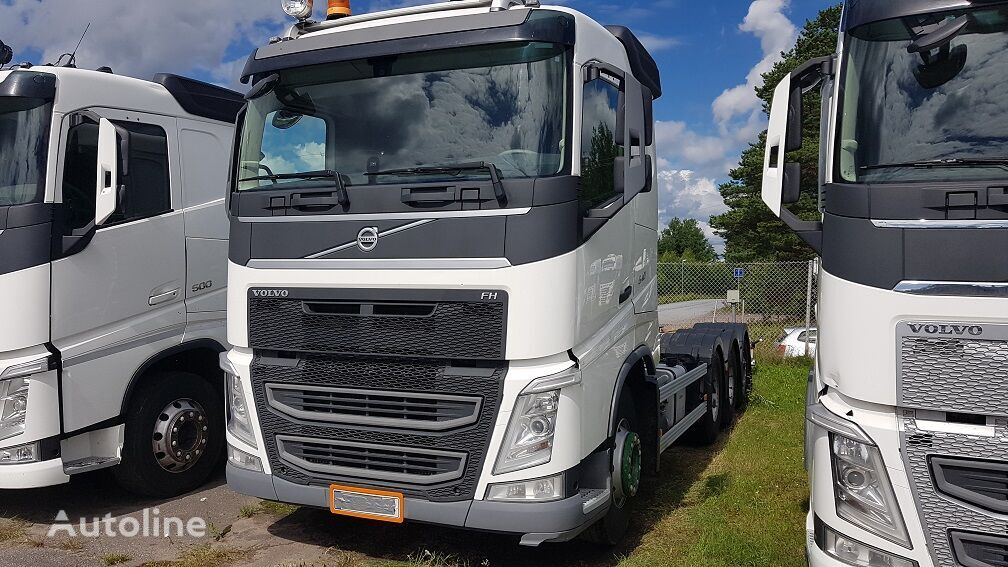 VOLVO FH540 8x4 chassis truck