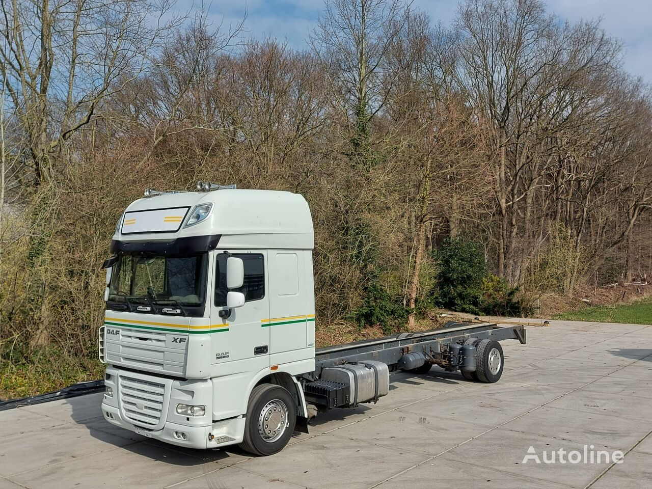 DAF 105.410 SSC  ACC LANE ASSIST  690CM WHEELBASE chassis truck