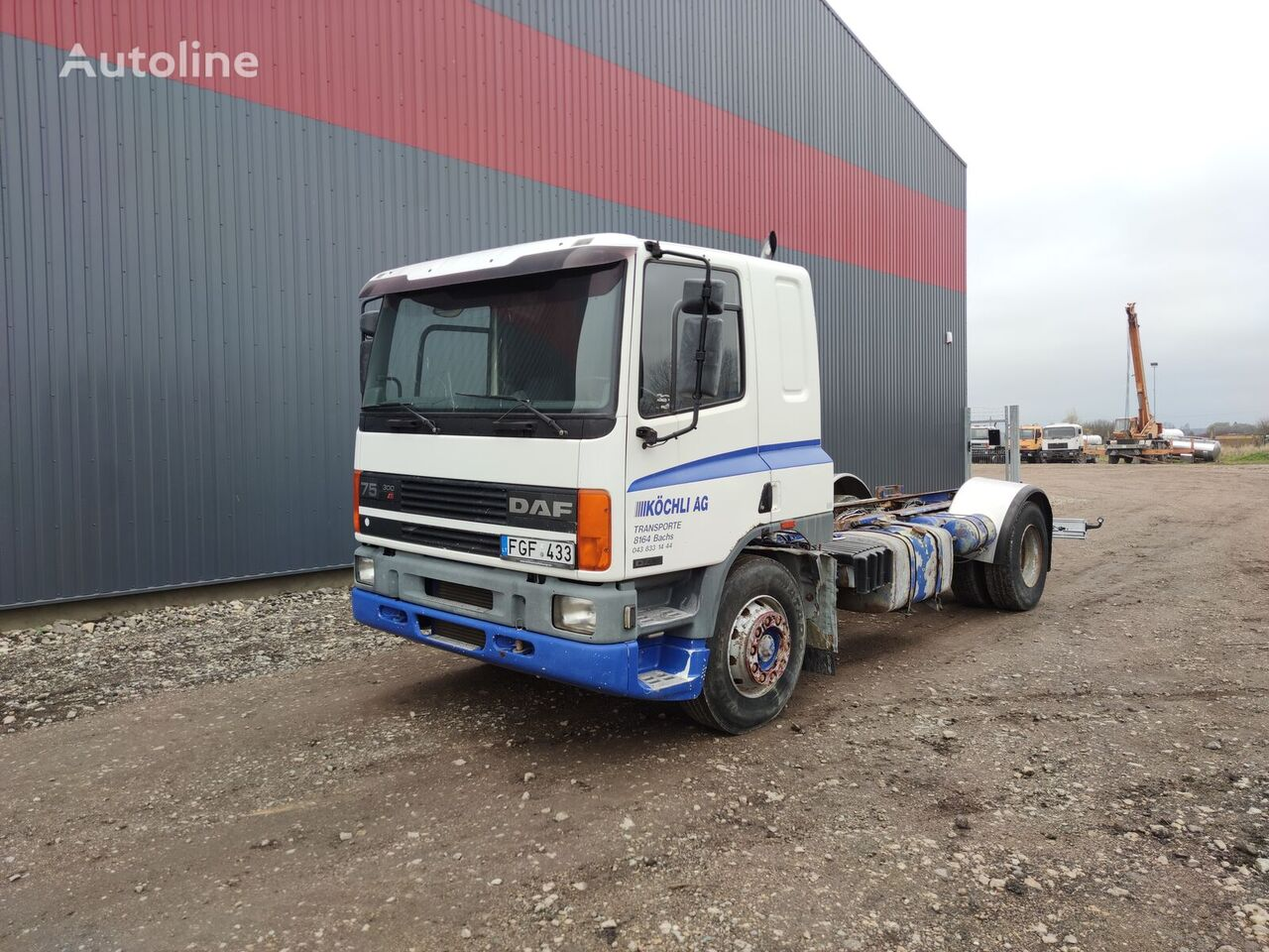 DAF 75.300 chassis chassis truck