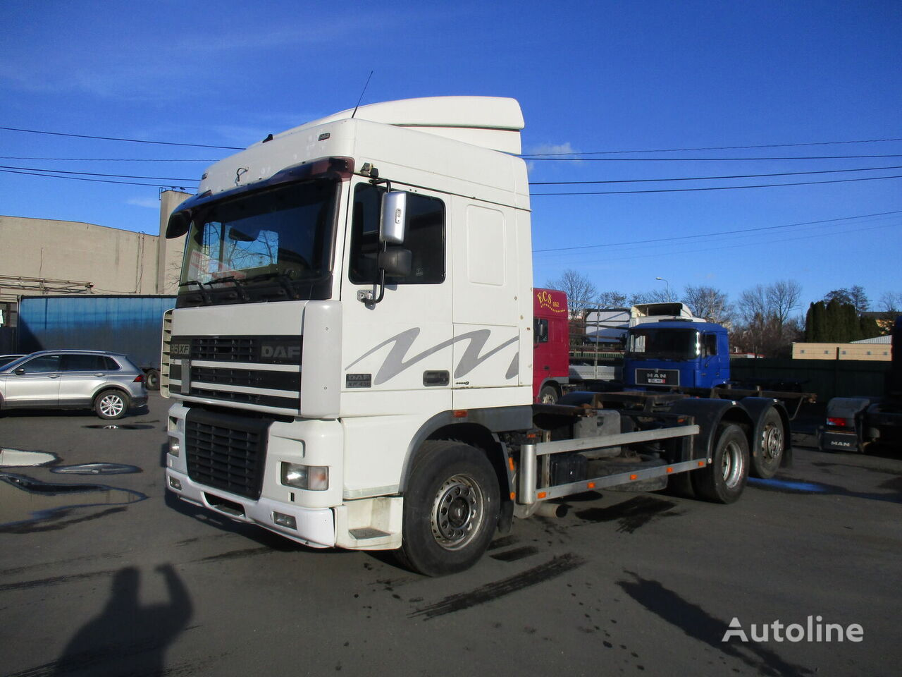 DAF 95 XF 430...Retarder...euro 3... chassis truck