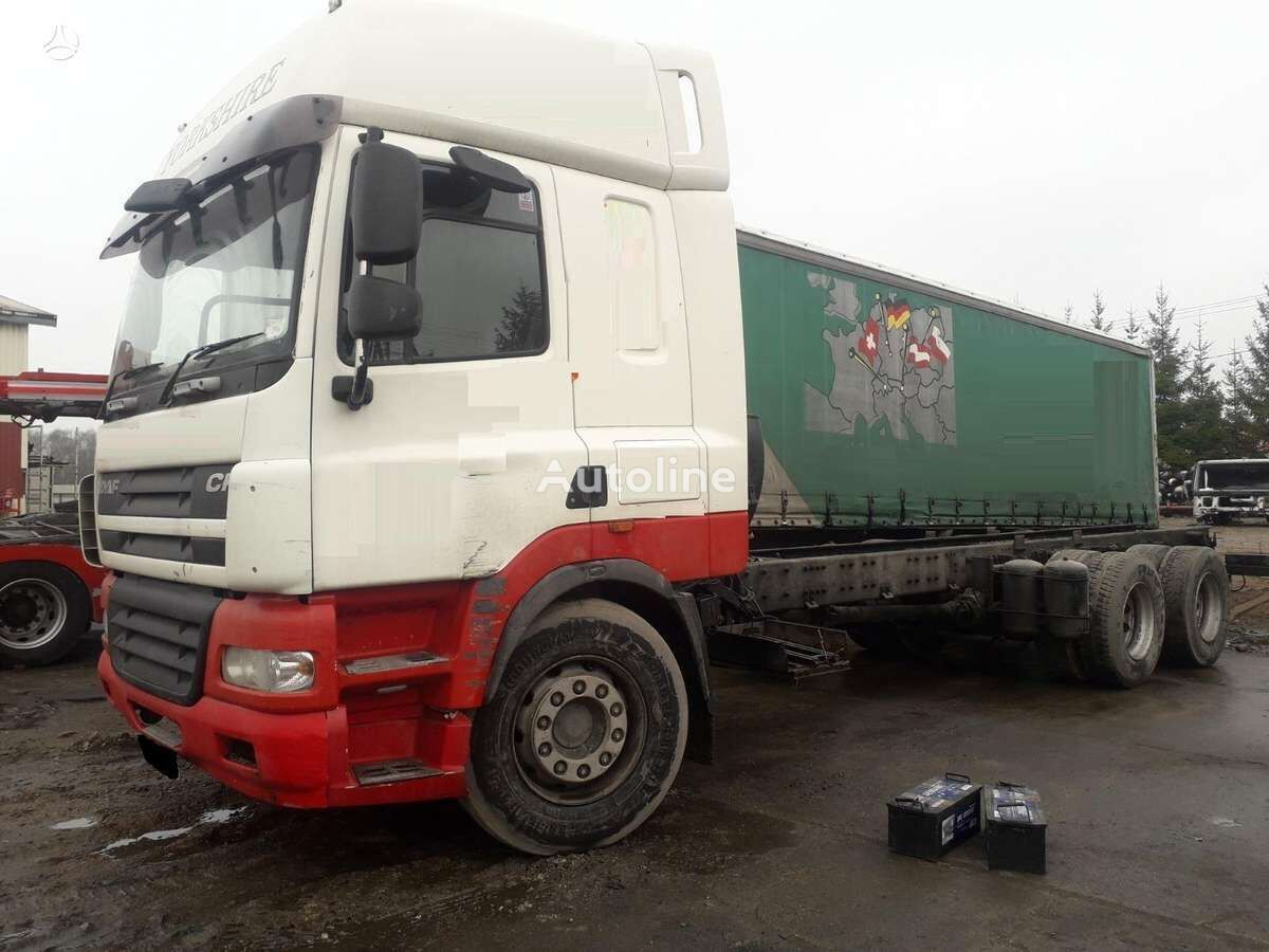 DAF CF 85 chassis truck for parts