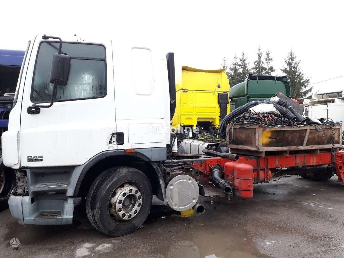 DAF FA 75CF, semi-trailer trucks chassis truck for parts