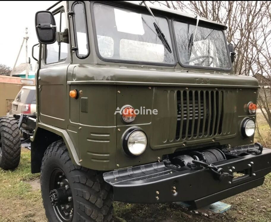 GAZ 66 chassis truck