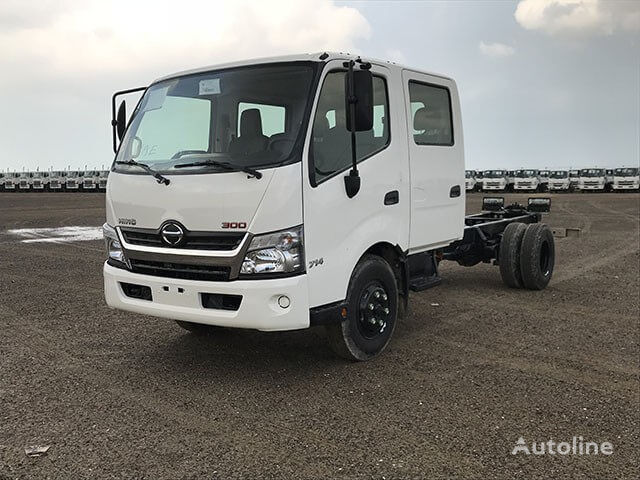 new HINO 714, 4.1 Ton (Approx.) Double Cab Chassis,with Turbo & ABS chassis truck