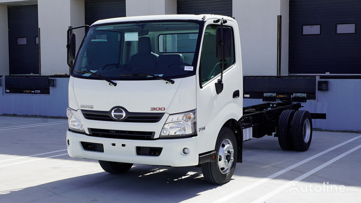 new HINO 714 Chassis, 4.2 Tons (Approx.), Single cabin with TURBO, ABS an chassis truck