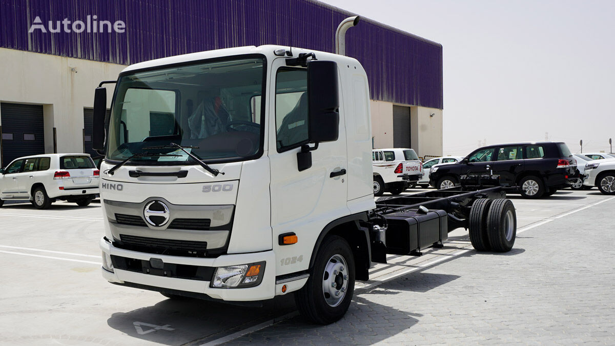 new HINO FD 7 Ton Payload (approx) Single Cab 4×2 w/ Airbag M/T chassis truck