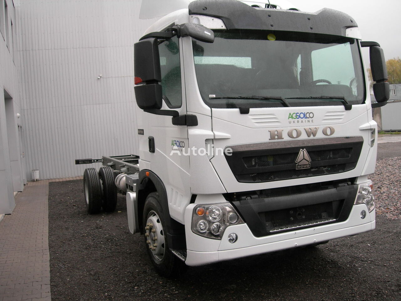 new HOWO T5G chassis truck