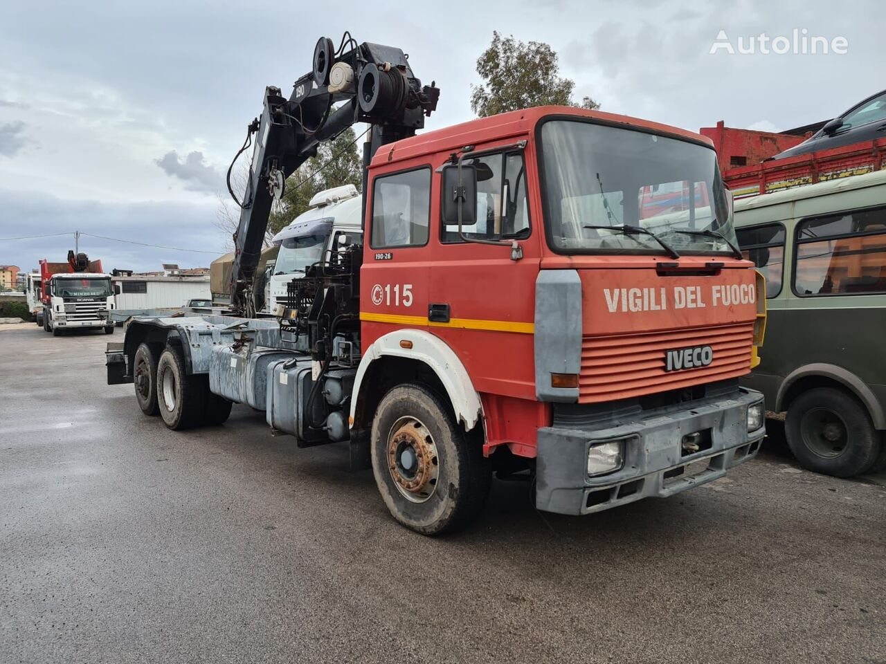 IVECO 190.26 chassis truck