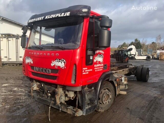 IVECO EUROCARGO 120E28 / F4AE3681 - 280 HP - EURO 5 chassis truck for parts