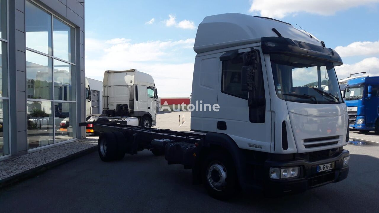 IVECO EuroCargo 120 chassis truck