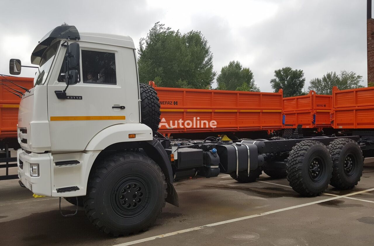 new KAMAZ 43118-A5 chassis truck