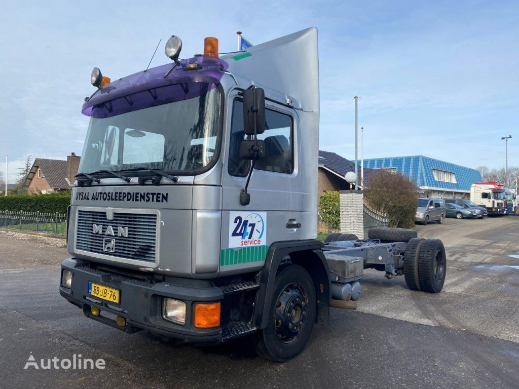 MAN 12.192 MANUAL GEARBOX HOLLAND TRUCK chassis truck