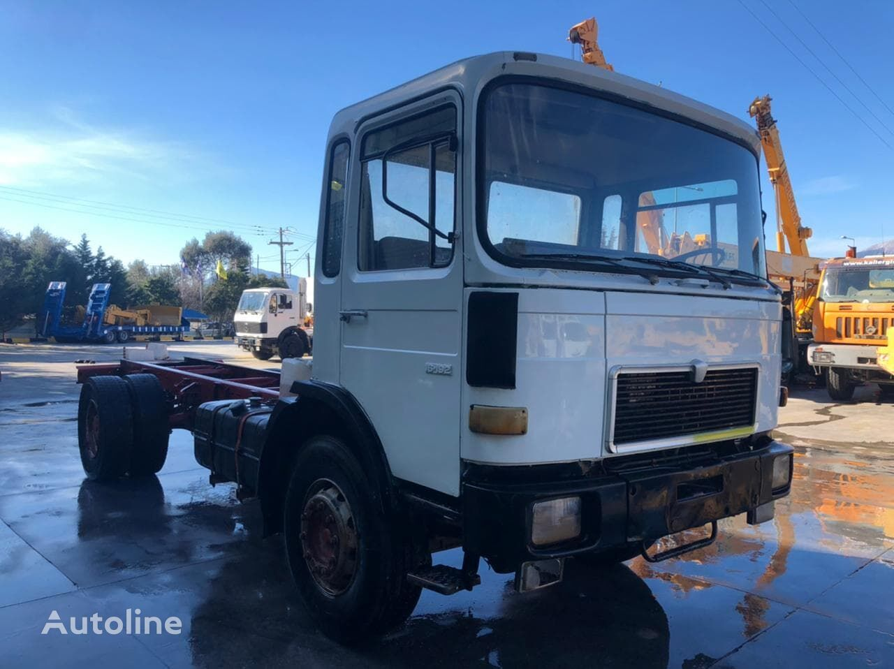 MAN 16-192 chassis truck