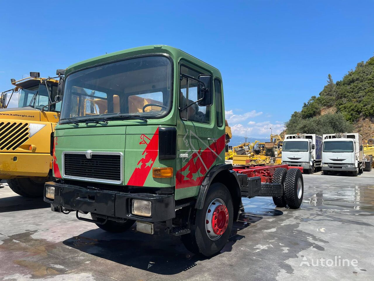 MAN 16.192 chassis truck