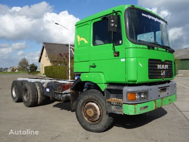MAN 26-403 6x6 long chassis chassis truck