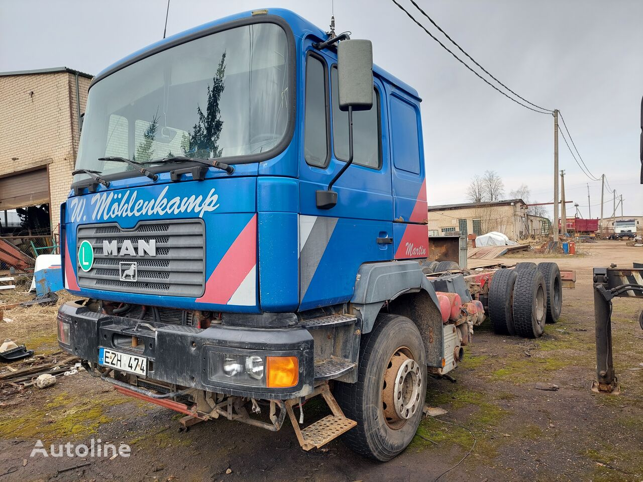 MAN 26464 6X4 chassis truck